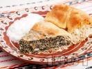 Рецепта Зелник с коприва и спанак (с мая)
